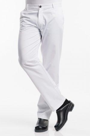 מכנס שף לבן