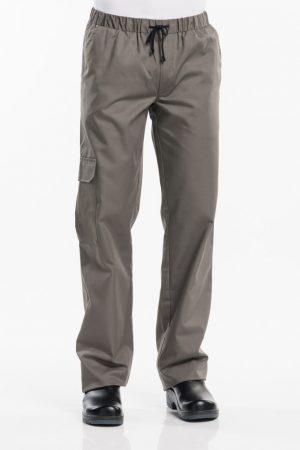 מכנס שף BAGGY באגי בצבע חקי