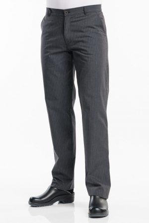 מכנס שף LIVIO פסי בד