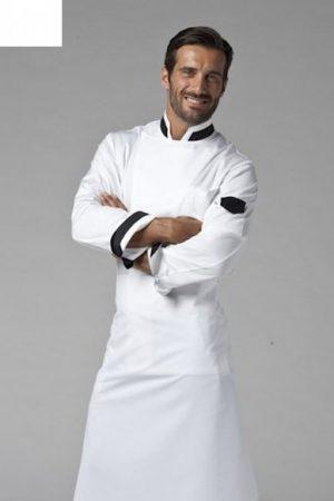 גקט שף מדגם Jack אינסרט שחור תוצרת איטליה