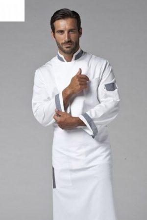 גקט שף מדגם Jack אינסרט אפור תוצרת איטליה