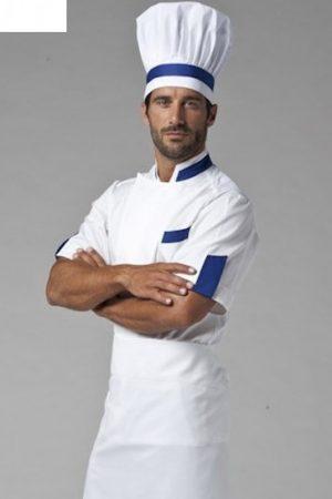 גקט שף מדגם Dean אינסרט כחול רויאל תוצרת איטליה