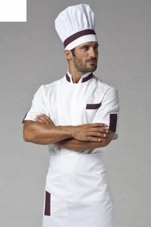 גקט שף מדגם Dean אינסרט בורדו תוצרת איטליה