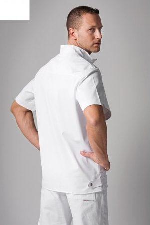 טוניקה קצרה מדגם Daniel צבע לבן תוצרת איטליה