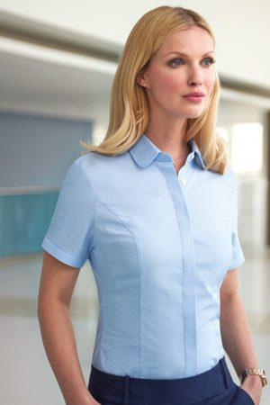 חולצה במראה מכופתר מדגם Soave ומבד איכותי נמתח