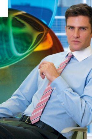 חולצה אלגנטית צאוורון לבן