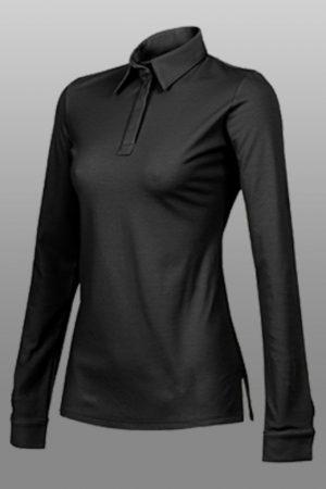 חולצת מלצרית UNA עם שרוול ארוך